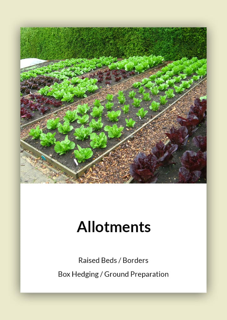 Daniel Bunting - Garden Contractors - Allotments