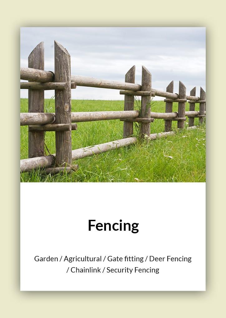 Daniel Bunting - Garden Contractors - Fencing