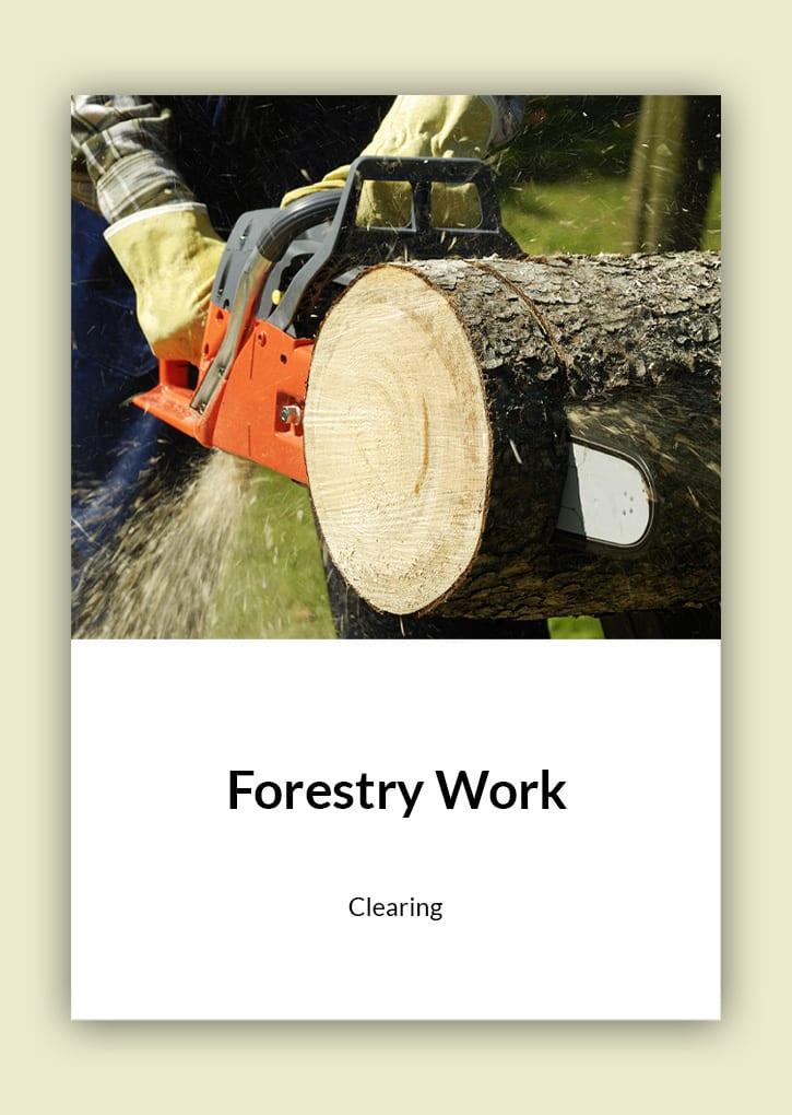 Daniel Bunting - Garden Contractors - Forestry Work