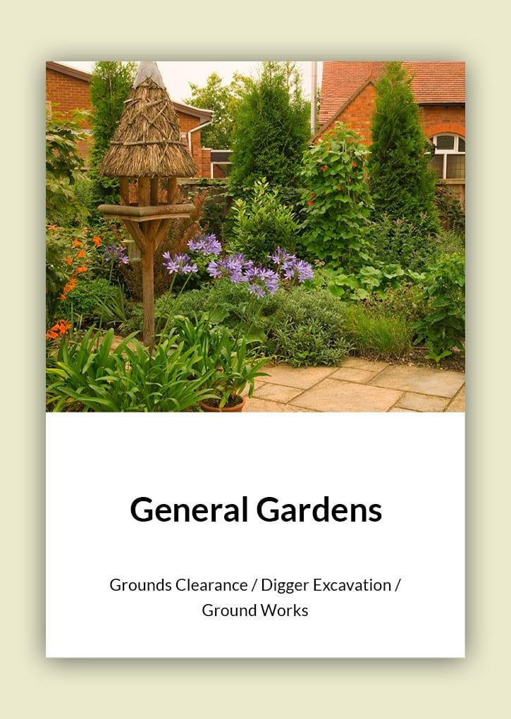 Daniel Bunting - Garden Contractors - General Gardens
