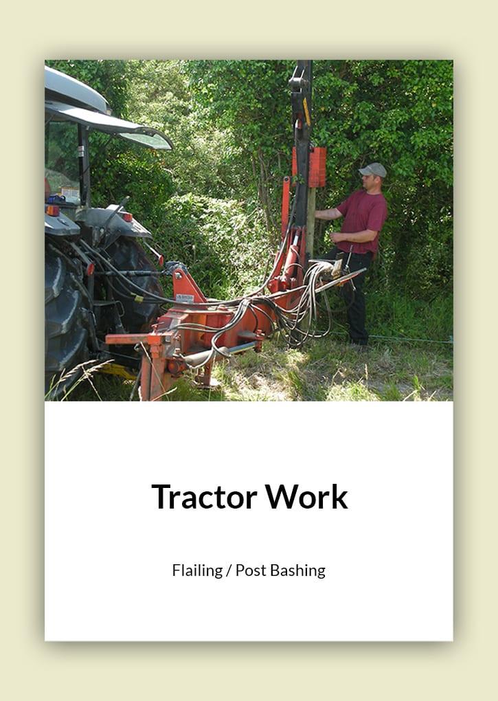 Daniel Bunting - Garden Contractors - Tractor Work
